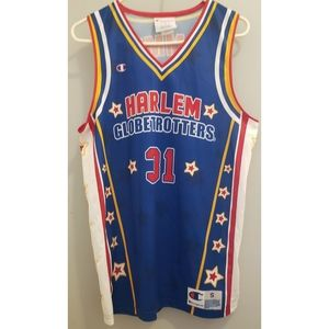 Signed Harlem Globetrotters jersey Small
